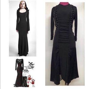 Dresses & Skirts - Vintage Black Beaded Dress